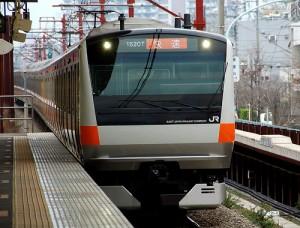 Chuo line train